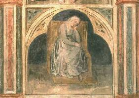Woman resting, from 'Scenes from a Private Life' cycle after Giotto c.1450