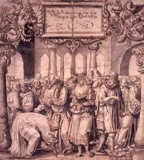 The Woman Taken in Adultery 1527  &
