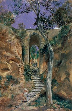 Bridge in Vico 1858