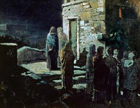 Christ after the Last Supper in Gethsemane 1888