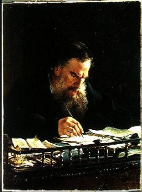 Portrait of Lev Tolstoy (1828-1910)