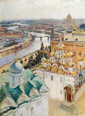 View of Moscow from the Bell Tower of Ivan the Great 1896