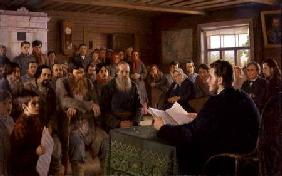 The Village Meeting 1895