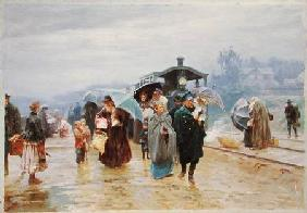 The Train has arrived 1894