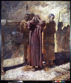 Kunstdruck von Nikolai Nikolajewitsch Ge - Golgatha