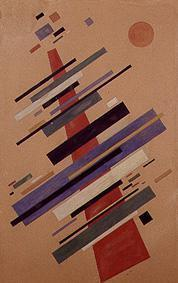 Grosse suprematistische Komposition 1922