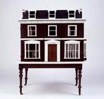 'The Cedars, Woodbridge', dollshouse, view of the front, English, late 19th century (mixed media) (f 1695