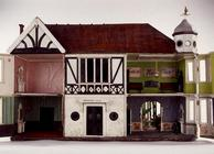 'The Edwardian Villa', a mock-Tudor style dollshouse, view of the interior, English, c.1905 (mixed m 18th