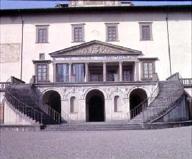 View of the facade designed by Giuliano da Sangallo (c.1443-1516) for Lorenzo Medici 'Il Magnifico' 15th