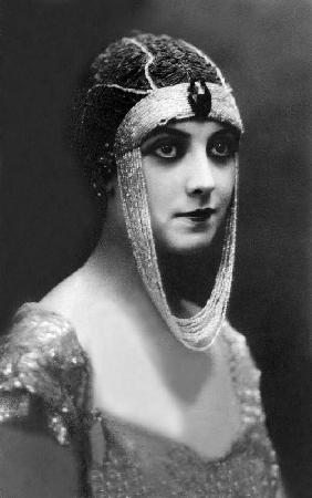 Actress Musidora pseudonym of Jeanne Roques in 1919