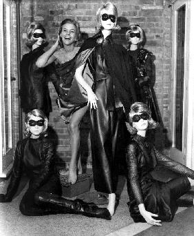 Aeries The Avengers with Honor Blackman , as Cathy Gale with fashion design by Frederick Starke October 29