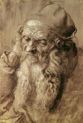 A.Dürer, 93-year-old Man /Draw./ 1521