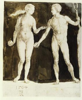 A.Dürer / Adam and Eve (New York)