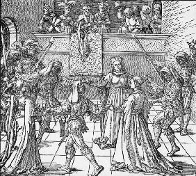 A.Dürer / The Torch Dance / c.1516