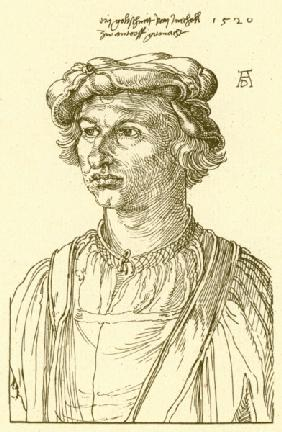 A.Dürer, A Goldsmith from Mecheln /Draw.