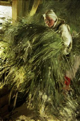 Anders Zorn / In the Hayloft
