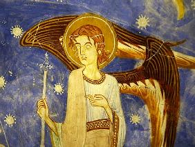 Angel on the west wall