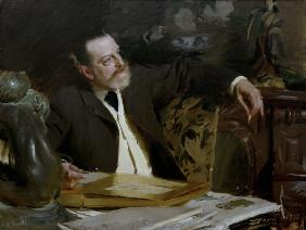 Antonin Proust / Paint.by Zorn / 1888