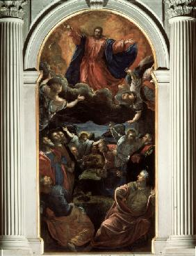 Ascension of Christ / Tintoretto School