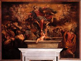 Assumption of Virgin / Tintoretto