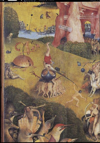 Bosch Garten Der Luste Ausschnitt Hieronymus Bosch Als