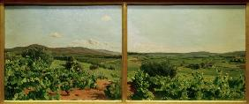 Bazille / Study for Grape Harvest