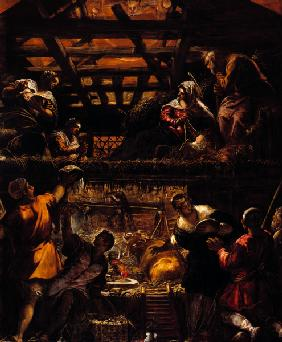 Birth of Christ / Tintoretto / c.1576/81