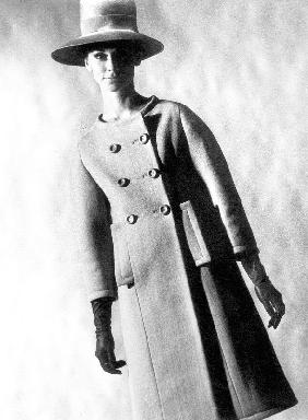 Capucci coat in spring summer collection 1963