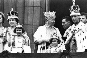 Coronation of English King George VI of England 12 May 193
