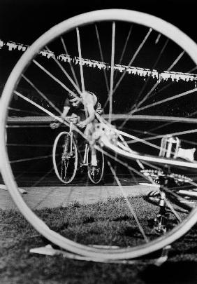 cyclist Jacques Anquetil failed in the attempt of breaking world record October 22