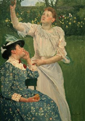 Cassatt / Young Women Picking Fruit