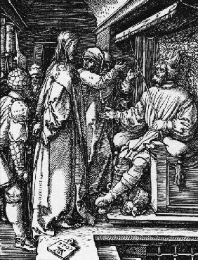 Christ before Herod / Dürer / 1509