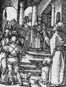 Christ before Pilate / Dürer / c.1509