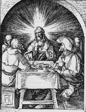 Christ in Emmaus / Dürer / c.1510