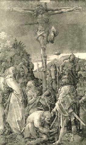 Christ on the Cross / Dürer / 1504
