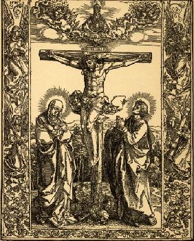 Christ on the Cross / Dürer / 1516