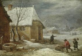 David Teniers d.J., Winter