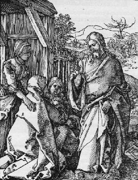 Departure of Christ / Dürer / c.1509