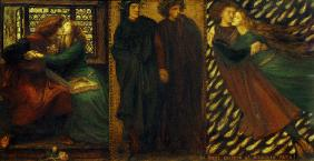D.G.Rossetti / Paolo and Francesca.