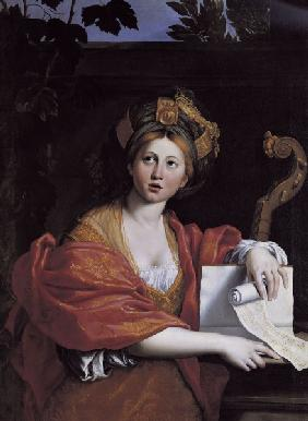 Domenichino / Cumaean Sibyl / c.1616