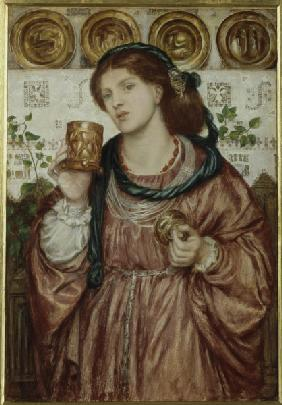 D.Rossetti, The Loving Cup, 1867.
