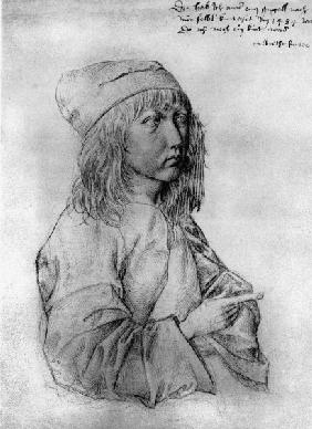 Dürer / Self-portrait as Boy / 1484