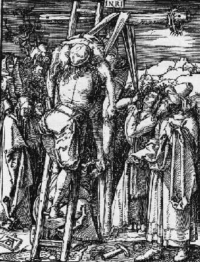 Dürer, Deposition / Small Passion / 1509