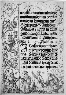 Dürer, Prayer Book, Emperor Maximilian