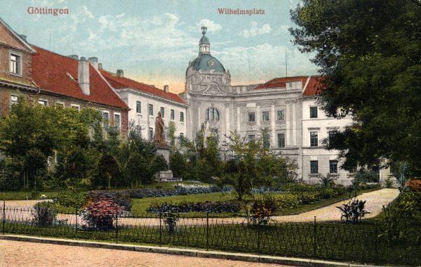 Göttingen Wilhelmsplatz Artist Artist Als Kunstdruck Oder