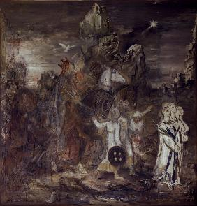 G.Moreau, The Magi / Painting