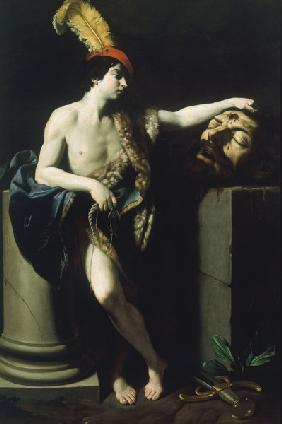 Guido Reni, David with Head of Goliath