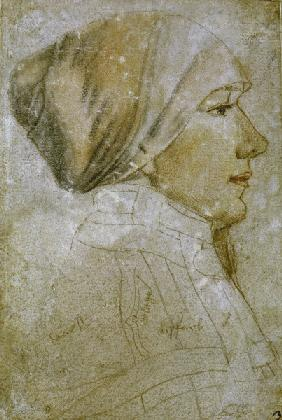 Holbein t.Y., portrait of a woman