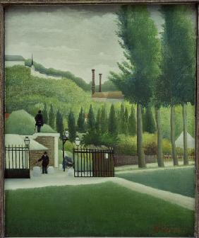 H.Rousseau, The Toll Gate