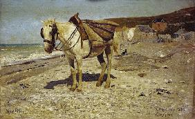 I. Repin, Horse for Carrying Stones
